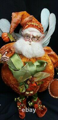 Morgue Sale Mark Robert's 16 Pumpkin Spice Fairy Mint new in box Retired 2012