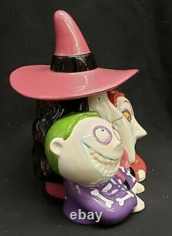 Morgue Sale Retired & Soldout Lock, Shock & Barrel Cookie Jar Mint NEW IN BOX