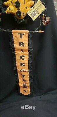 Morgue Sale Scott Smith Rucus Studio Rare Spider with Banner Retired 2007 MINT