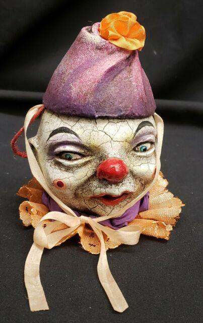 Morgue Sale Vergie Lightfoot Highly Detailed Original Crackle Clown. Mint Bb
