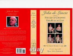 Mr. JOHN DE LANCIE 10 DVD Art of Creating the Musical Line, ON SALE
