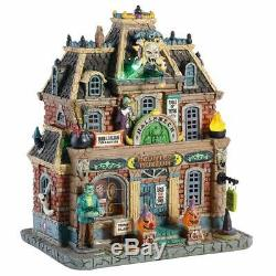 NEW 2018 Lemax Spooky Town Lighted Building Haunted Museum Halloween Decor Gift