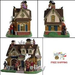 NEW 2019 Lemax Spooky Town Lighted House Spooky Winner Halloween Tabletop Decor