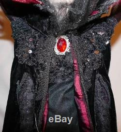 NEW Katherine's Collection Temptress Sorceress Black Witch Doll Halloween 30
