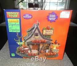 NIB 2020 Jack's Pumpkin Farm Spookytown Collection Sights & Sounds