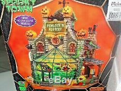 NIB Lemax Spooky Town Retired 2014 Hemlock Nursery