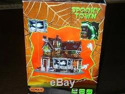 NIB Retired Lemax Last House on the Left From The Spooky Town Collection
