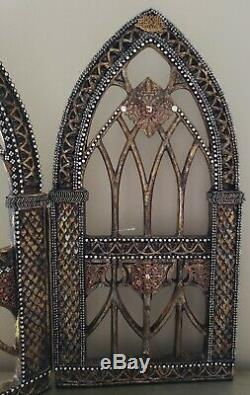 NWT Katherines Collection Krooked Kingdom Gothic Tabletop Triptych 28-928589