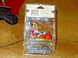 New in Blister Pack Ultra Rare Lemax 2010 Discontinued Fluffy's Halloween Dinner