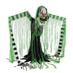 Pre Order-halloween Animated Life Size Underworld Clown Prop Decoration Haunted