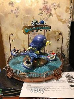 RARE LEMAX SPOOKY TOWN HALLOWEEN OCTO SQUEEZE CARNIVAL RIDE Oct-o-squeeze MIB