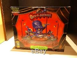 RARE LEMAX SPOOKY TOWN HALLOWEEN OCTO SQUEEZE CARNIVAL RIDE Oct-o-squeeze WORK