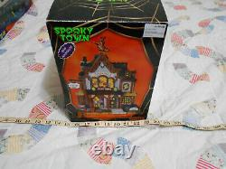 RARE Lemax Spooky Town Collection Halloween Village Sabrina Costume Shop