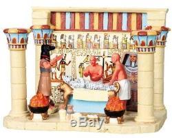 RETIRED NIB Lemax Spooky Town Figurine Village Halloween / Mummification Chamber