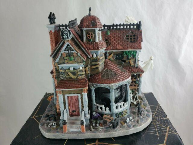 Rare Lemax Spooky Town Last House On The Left Read Description