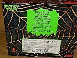 Rare NIB Lemax SpookyTown 2014 Box-Of- Bones Coffin Factory Sights & Sounds
