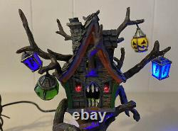Rare Retired 2006 Lemax Spooky Town Halloween Hungry Tree House 64427 Lighted