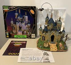 Rare Retired 2007 Lemax Spooky Town Halloween Vampire Castle 75498 Animated