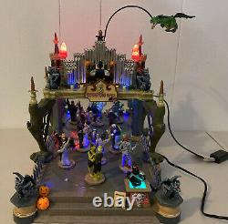 Retired 2005 Lemax Spooky Town Halloween Monsters Ball 54302 Animated Music