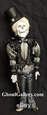 Retired Katherine's Collection Steampunk Male Doll Collection MINT B
