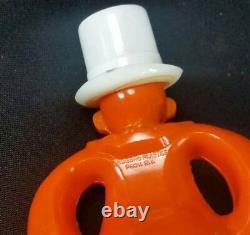 Rosbro Plastics Halloween Pete Clown figure vintage candy container USA Made