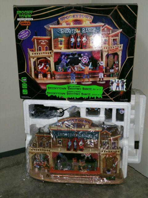 Shooting Range Brand New From My Personal Collection. 2010 Lemax Spooky Town