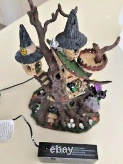 SPOOKYTOWN Lemax /Dept 56-Like, #64426WITCHES PERCHTABLE ACCENT2006 VINTAGE