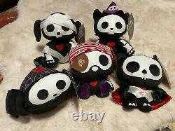 Skelanimals Target Exclusive Collectible Halloween Plush New withTags
