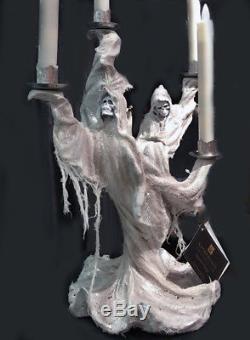 Skeleton Haunted Candelabra 17 Figurine Halloween Katherine's Collection