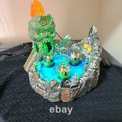Skull River Lemax Spooky Town Michael's Exclusive Carnival LNC Retired