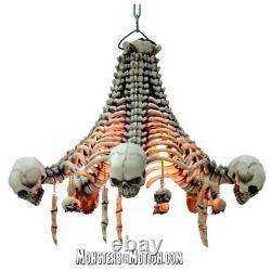 Skull and Skeleton Chandelier 061PT206