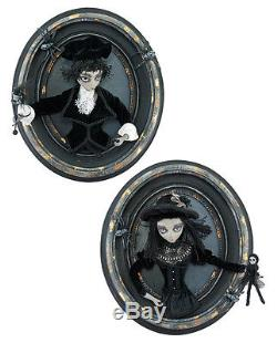 Spooky Boy Oval Frame 3D Portrait Halloween Katherines Collection 28-628049 B