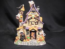 Spooky Hollow Porcelain Village Set of 6