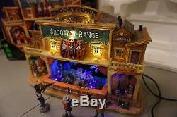 Spooky Town Halloween Shooting Range 2010 05013 Excellent! In box works perfect