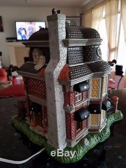 Starbucks Lighted Ceramic Haunted Halloween House ONLY 500 MADE