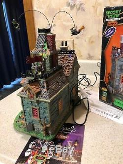 Super Rare Lemax Spooky Little Monsters School House Witch RETIRED HALLOWEEN MIB