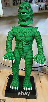 Telco Motion-ette CREATURE FROM THE BLACK LAGOON Animated Halloween Figure 24