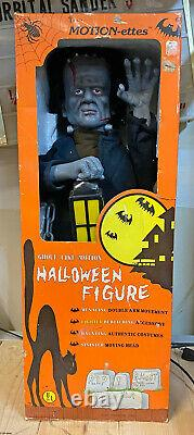 Telco Motion-ette FRANKENSTEIN'S MONSTER Animated Halloween Figure 24 withBox