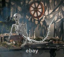 The Original Mermaid Life-Size Skeleton Halloween Decor