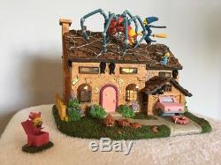 The Simpsons Halloween Family Home Hawthorne Village #A0939 THOH COA