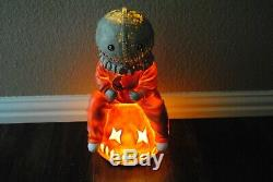 Trick r Treat Sam Statue 16 Light up Spirit Halloween Exclusive doll figure or