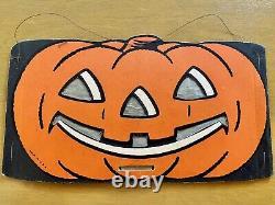 Vintage Halloween Beistle Lantern 1940s