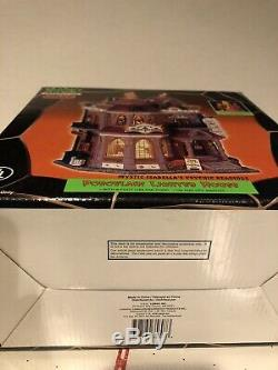 Vtg Lemax Spooky Town Village Halloween Mystic Isabella's Psychic Readings 2003