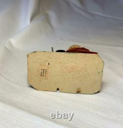 Witch Cauldron Halloween Candy Container Antique RARE Japan c1950 Paper Mache