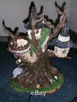 Witches Perch Very Rare 2006 Lemax Spooky Town Excellent Used Condition -CIB