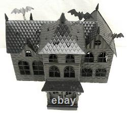 Yankee Candle Halloween Tealight Candle Metal Haunted Mansion House 1150997 2008