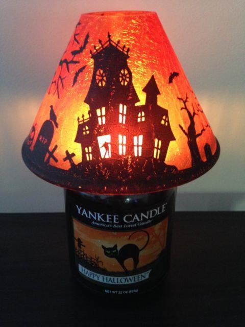 Yankee Candle Haunted House Jar Shade Rare